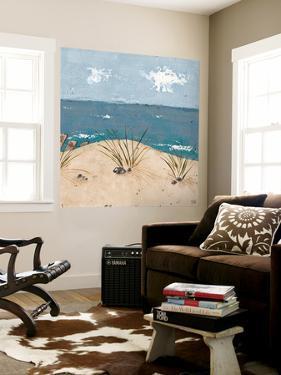 Beach Scene Triptych III by Jade Reynolds