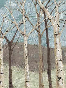 Blue Birches I by Jade Reynolds