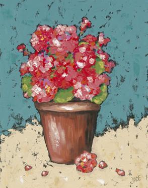 Bright Geraniums by Jade Reynolds