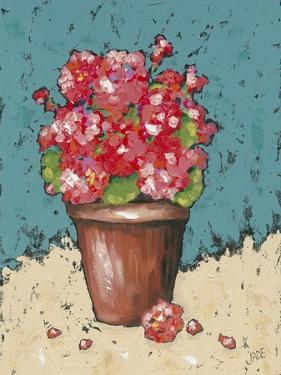 Bright Geraniums by Jade Reynolds