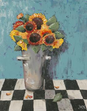 Bright Sunflowers by Jade Reynolds
