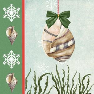 Christmas Coastal IV by Jade Reynolds