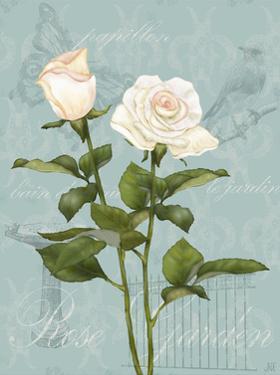 Cream Rose II by Jade Reynolds