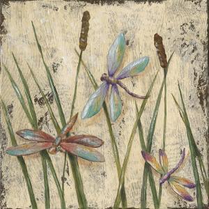 Dancing Dragonflies I by Jade Reynolds