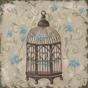 Decorative Bird Cage II by Jade Reynolds