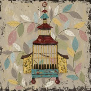 Decorative Bird Cage III by Jade Reynolds
