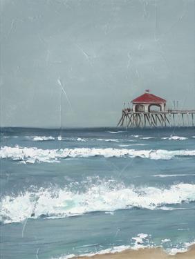 Fishing Pier Diptych I by Jade Reynolds