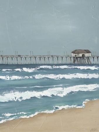 Fishing Pier Diptych II by Jade Reynolds