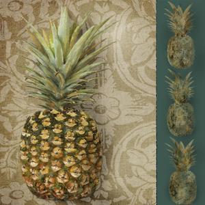 Pineapple Welcome I by Jade Reynolds
