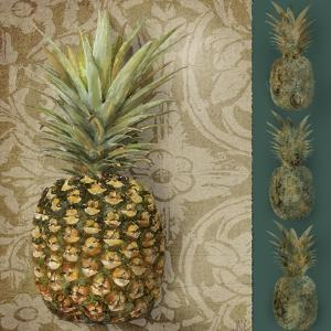 Pineapple Welcome I by Jade Reynolds