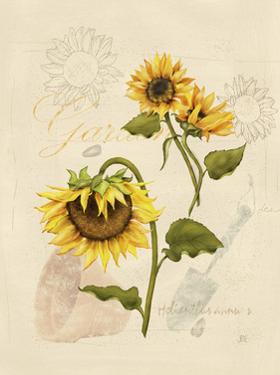 Romantic Sunflower I by Jade Reynolds