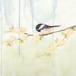 Spring Chickadees III by Jade Reynolds