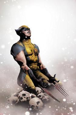 Wolverine No.14 Cover: Wolverine Kneeling by Jae Lee