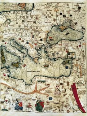 Catalan Atlas by Jafuda and Abraham Cresques