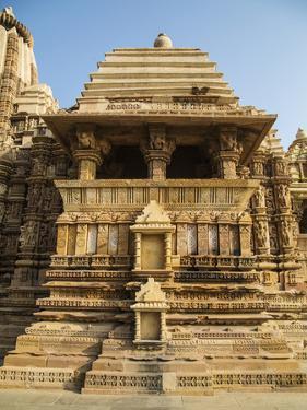 Temple of Khajuraho, Khajuraho, Madhya Pradesh, India by Jagdeep Rajput