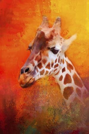 Colorful Expressions Giraffe by Jai Johnson