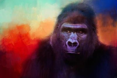 Colorful Expressions Gorilla by Jai Johnson