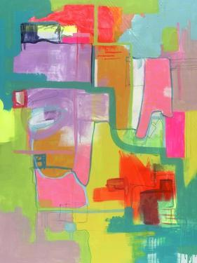 Untitled Abstract Painting by Jaime Derringer