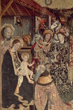 Epiphany or Adoration of the Magi, 1464 by Jaime Huguet