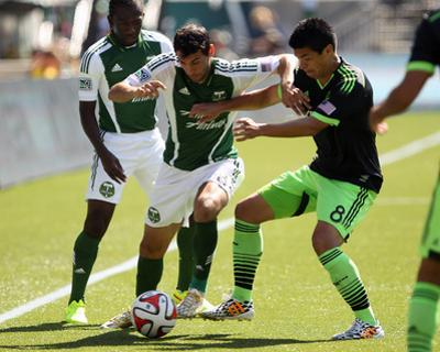 Aug 24, 2014 - MLS: Seattle Sounders vs Portland Timbers - Diego Valeri