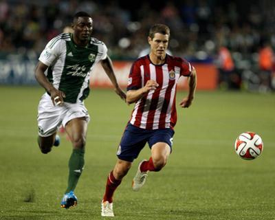 Aug 9, 2014 - MLS: Chivas USA vs Portland Timbers - Frederic Piquionne, Tony Lochhead