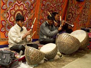 Ladakhi Musicians, Ladakh, India by Jaina Mishra