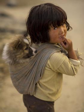 Portrait of a Tribal, Rural Arunachal Pradesh, India by Jaina Mishra