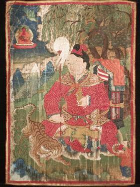 Thangkas, or Scrolls, Chemrey Monastery, Ladakh, India by Jaina Mishra