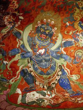 Thikese Monastery, Interior, Ladakh, India by Jaina Mishra