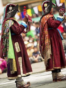 Traditional Dances, Ladakh, India by Jaina Mishra