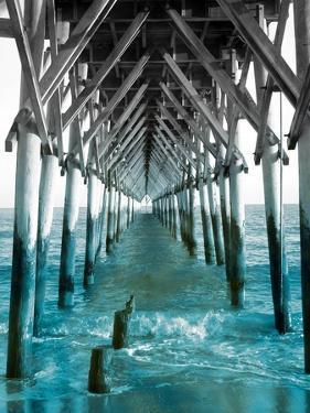 Teal Dock I by Jairo Rodriguez