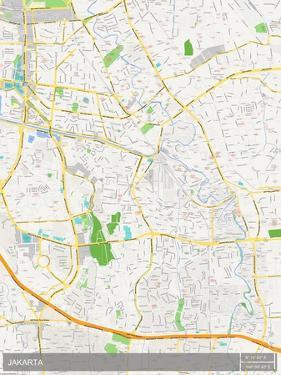 Jakarta, Indonesia Map