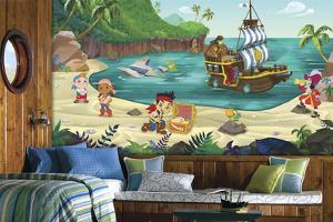 Jake and the Never Land Pirates Prepasted Mural