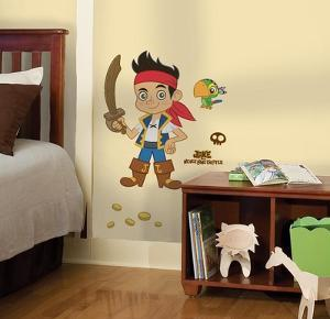 Jake & the Neverland Pirates Peel & Stick Giant Wall Decal