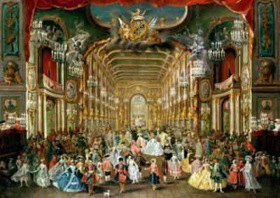 Masked Ball in the Hoftheater, Bonn, 1754