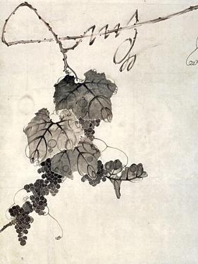 Bunch of Grapes by Jakuchu Ito