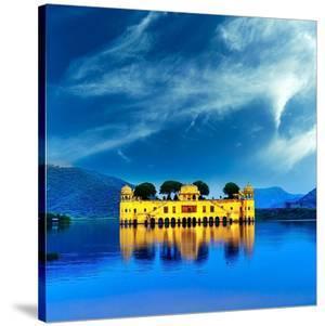 Jal Mahal & Lake Jaipur India