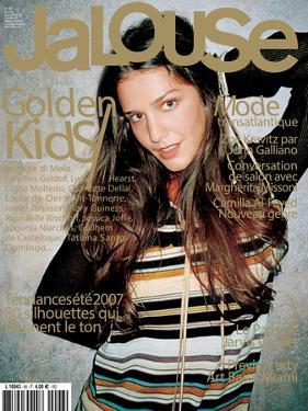 Jalouse, December 2006-January 2007 - Zoe Kravitz & Margherita Missoni