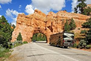 Highway Tunnel at Red Canyon in Utah by jam4travel