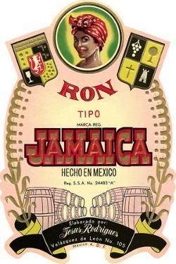 Jamaica Rum Label