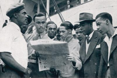 Jamaicans on Board the Empire Windrush