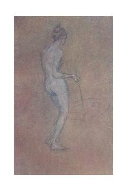 'A Nude Study', c1864, (1904) by James Abbott McNeill Whistler