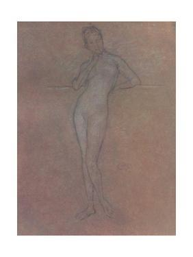 'A Nude Study', c1872, (1904) by James Abbott McNeill Whistler