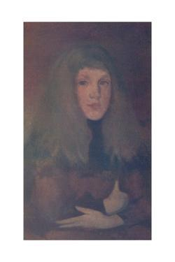 'A study in Rose and Brown', c1884, (1904) by James Abbott McNeill Whistler