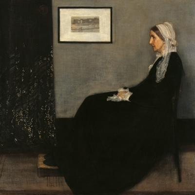 Arrangement in Gray and Black No. 1 (Whistler's Mother) by James Abbott McNeill Whistler