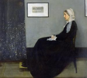 Arrangement in Grey and Black No.1: Portrait of the Artist's Mother, c.1871 by James Abbott McNeill Whistler