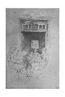 'Bead Stringers', c1880, (1904) by James Abbott McNeill Whistler
