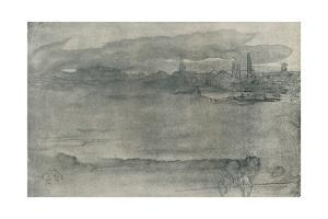 'Early Morning', 1878, (1904) by James Abbott McNeill Whistler