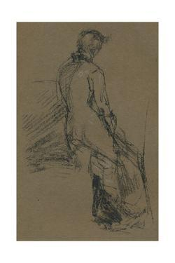 Form Study. c1868 by James Abbott McNeill Whistler