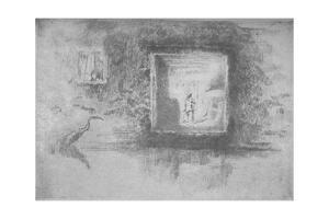'Furnace Nocturne', 1886, (1904) by James Abbott McNeill Whistler
